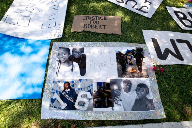No initial evidence of foul play in hanging death of black man in Palmdale, L.A. County coroner says