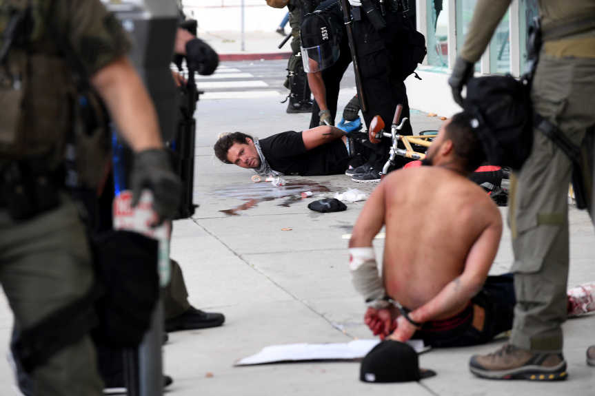2,100-plus arrested so far in Los Angeles County while protests rage