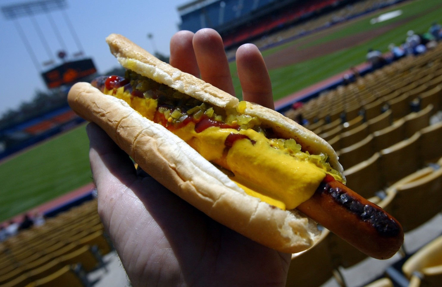 New service will deliver Dodger Dogs, other stadium food to select areas in LA