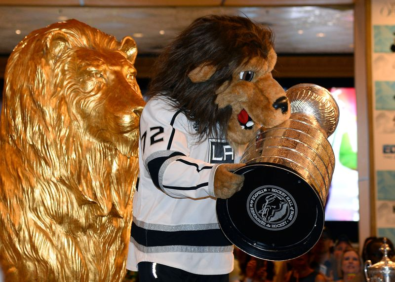 LA Kings mascot suspended over sexual harassment allegations