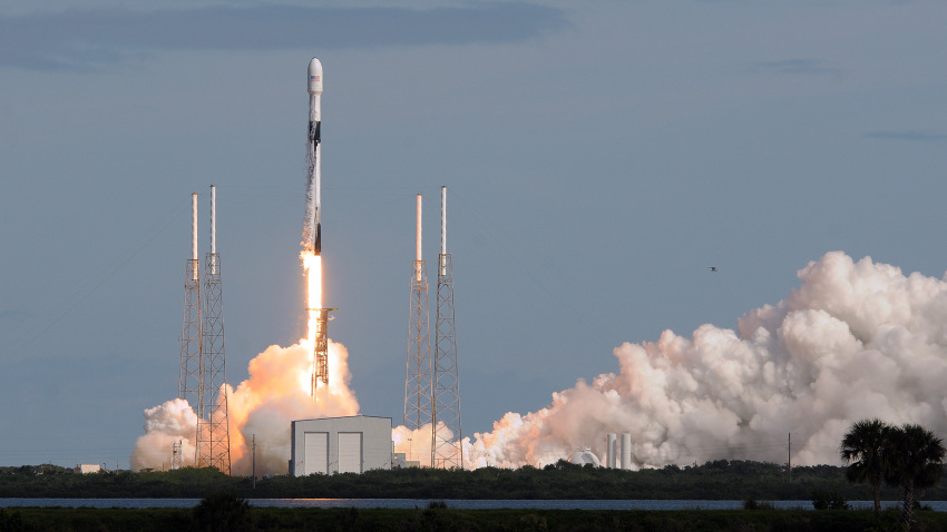 SpaceX Achieves a Rocket-Reuse Milestone With Internet Satellite Launch