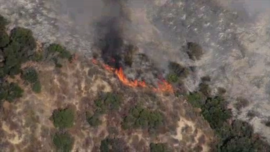 Evacuation Orders Lifted For 51-Acre Blaze In Cleveland National Forest near Corona