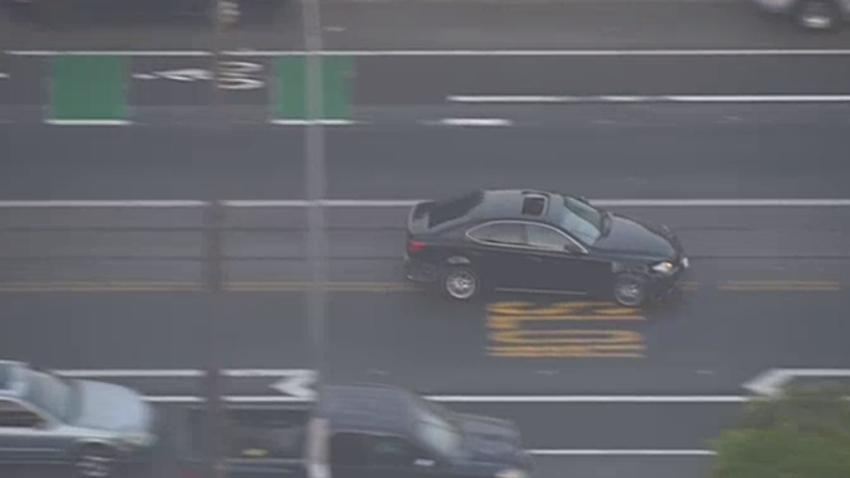 Pursuit Ends in Violent Crash After Driver Swaps Cars in Los Angeles