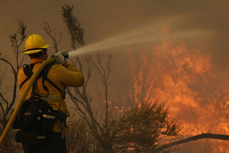 California wildfire likely to grow from wind, low humidity