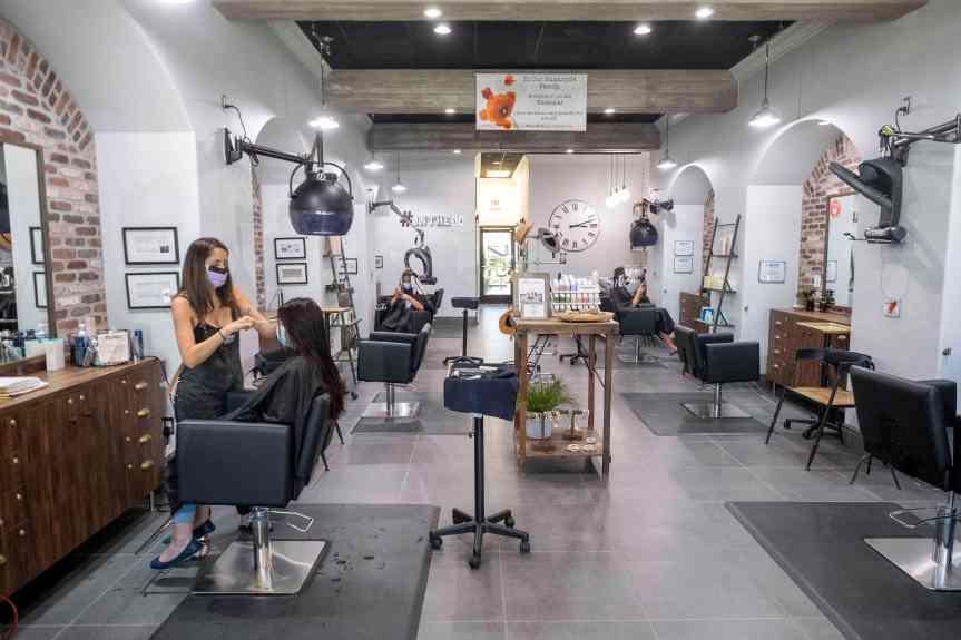 Hair salons, barbershops nervously await LA County's word on indoor clientele