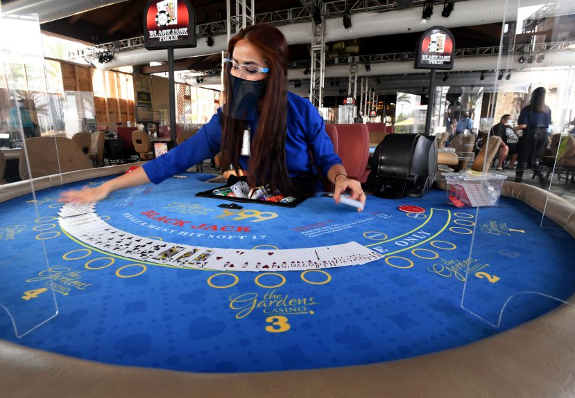 Gaming resumes at The Gardens Casino and other cardrooms in LA County