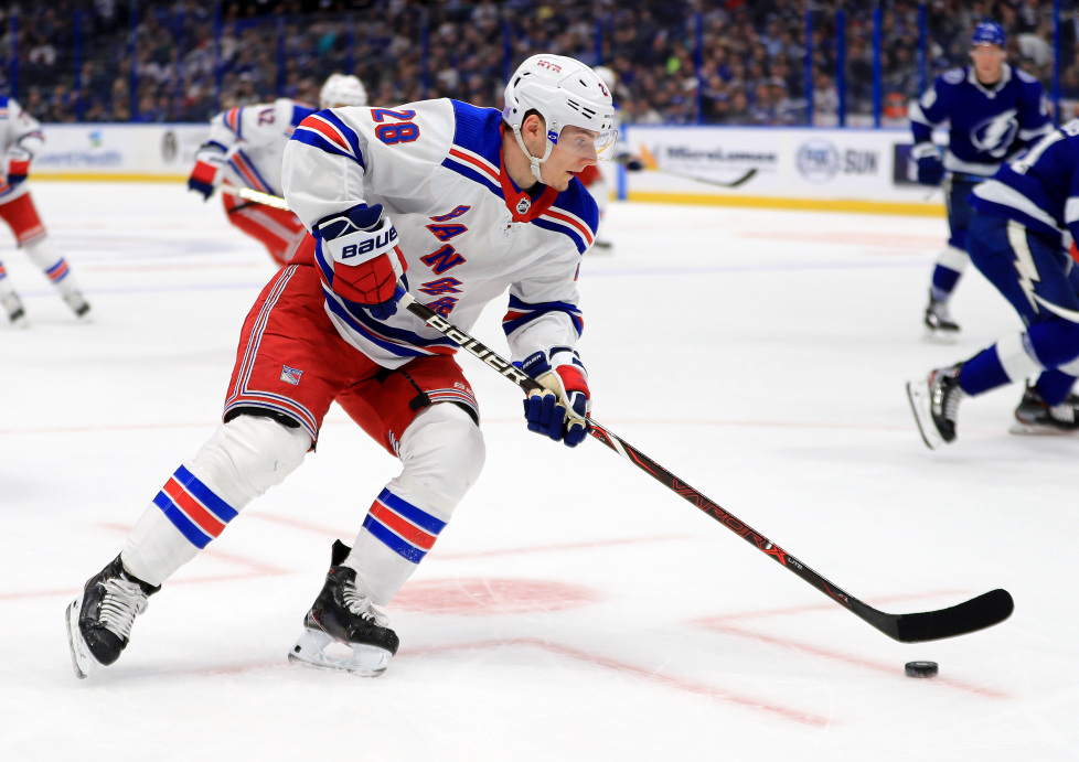 Kings trade for forward Lias Andersson, draft two defensemen in second round