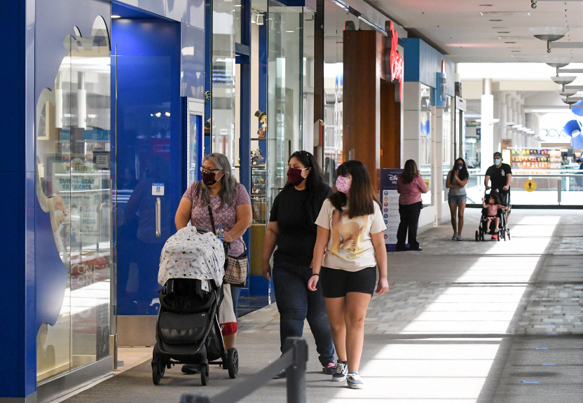 Shoppers delight as LA County malls reopen indoors