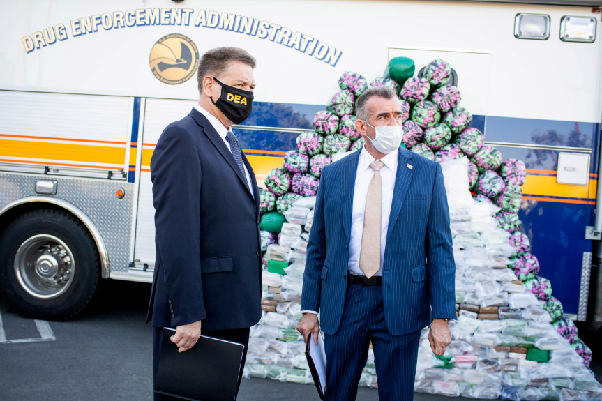 Massive methamphetamine bust, largest ever by DEA in U.S., made in Inland Empire