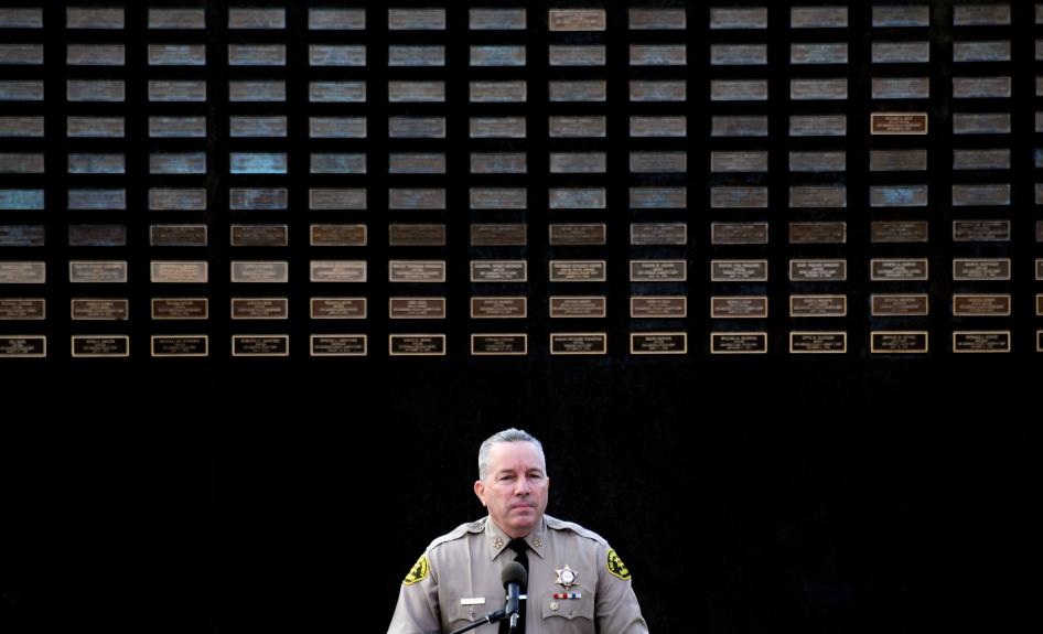 LA County commission gives sheriff unanimous no-confidence vote