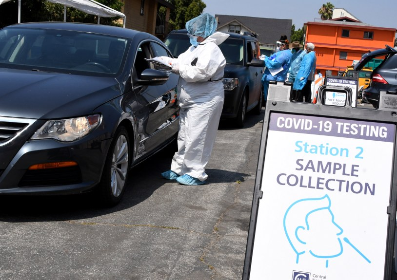 L.A. County reports 358 new coronavirus cases, 13 deaths