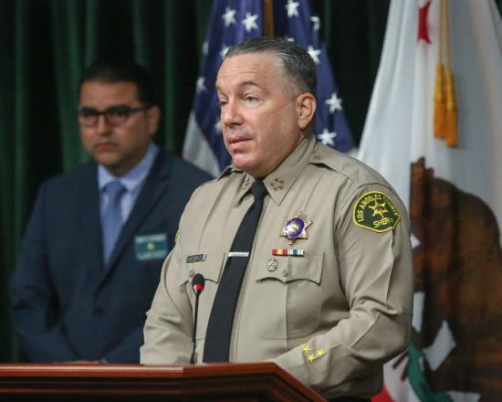 2 LA County supervisors to explore possibility of removing sheriff