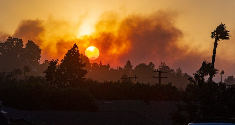 Southern California's extreme fire danger weather expected to ease Tuesday