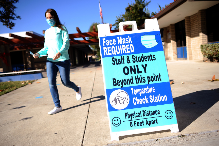 Las Virgenes Unified to welcome TK-2 students back to campus