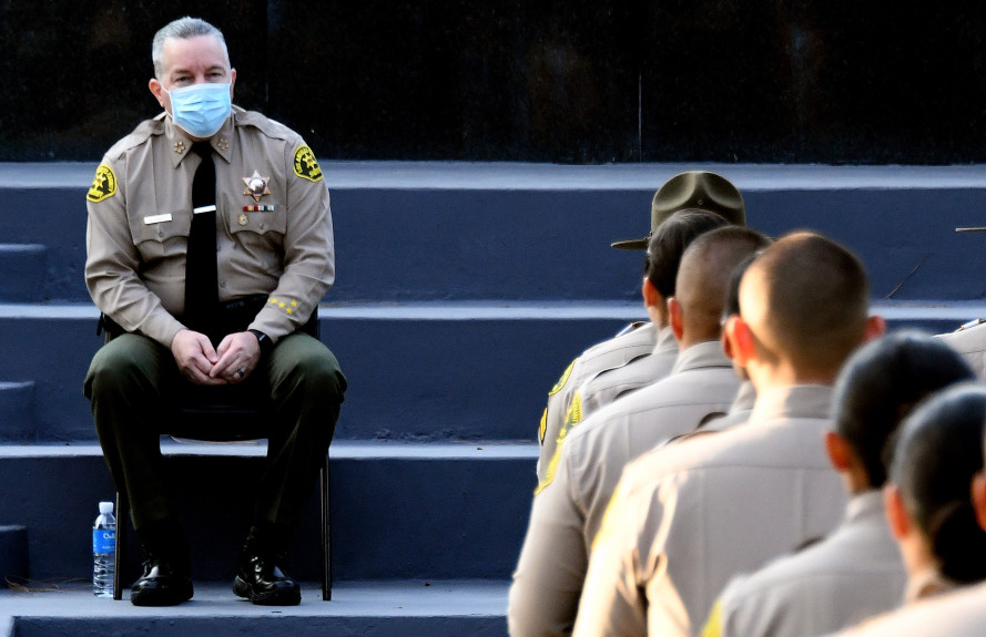 LA County leaders to once again take up concept of removing Sheriff Alex Villanueva