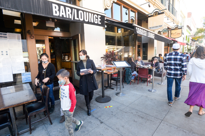 5 restaurants in Pasadena closed for failing to comply with coronavirus rules