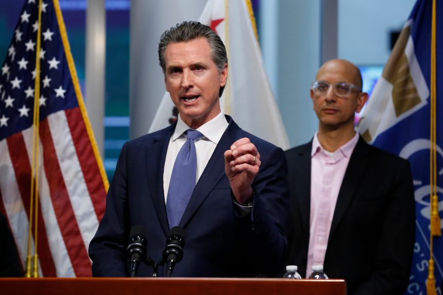 Newsom: California on verge of stricter COVID restrictions as ICU beds fill