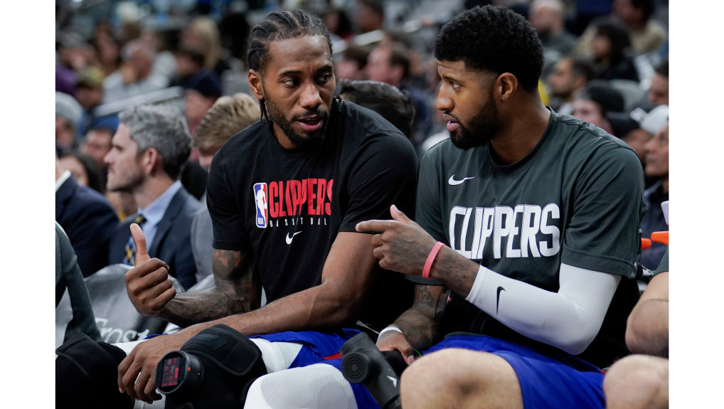 Clippers stars Kawhi Leonard, Paul George eager to 'get back after it'