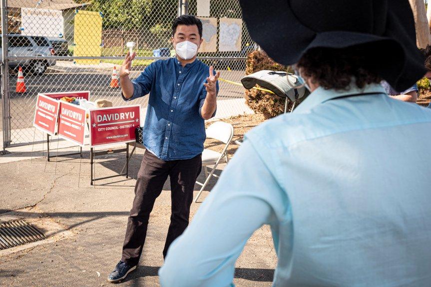David Ryu, Herb Wesson bid farewell to LA City Council