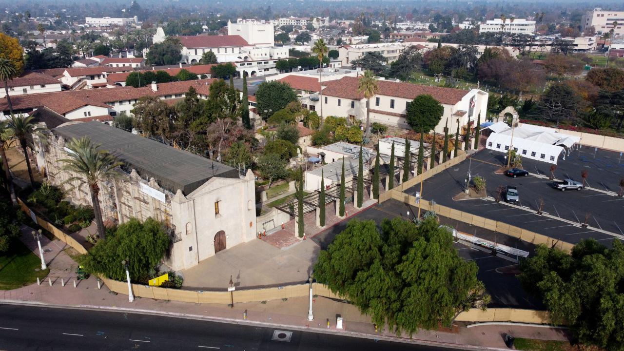 As Christmas arrives, hope endures for flock at fire-damaged Mission San Gabriel