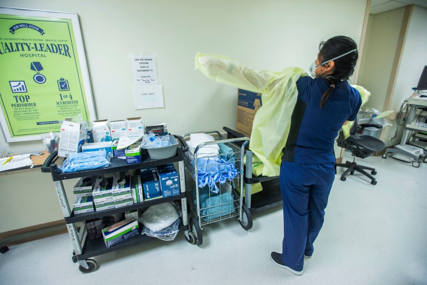 LA County shatters one-day coronavirus case record with 7,593 cases reported Tuesday