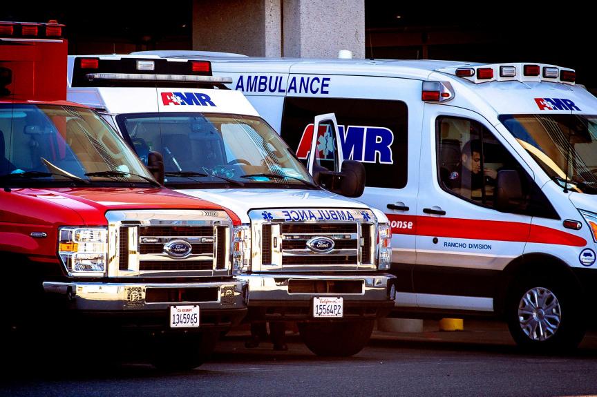 Ambulances across Southern California feeling strain of coronavirus surge