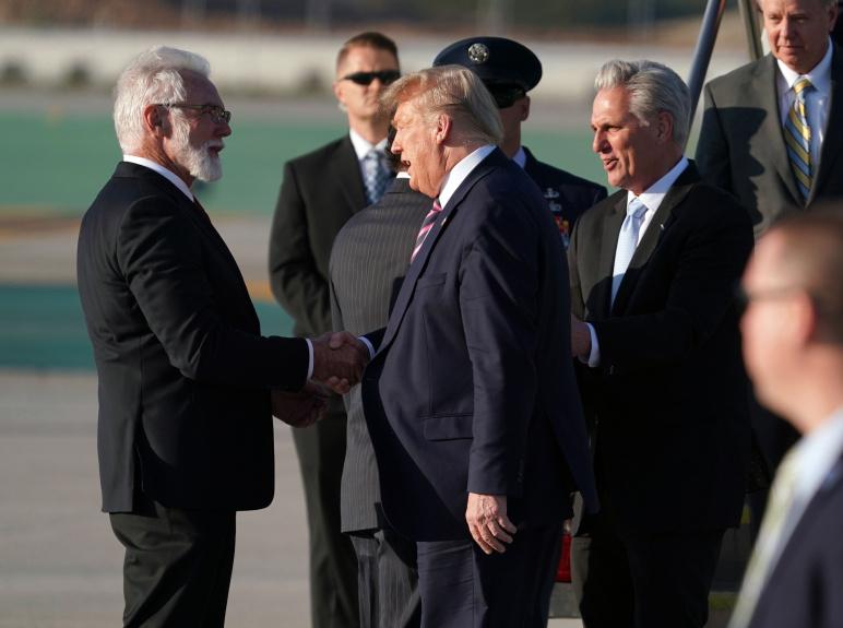 Lancaster Mayor R. Rex Parris reflects on meeting President Trump