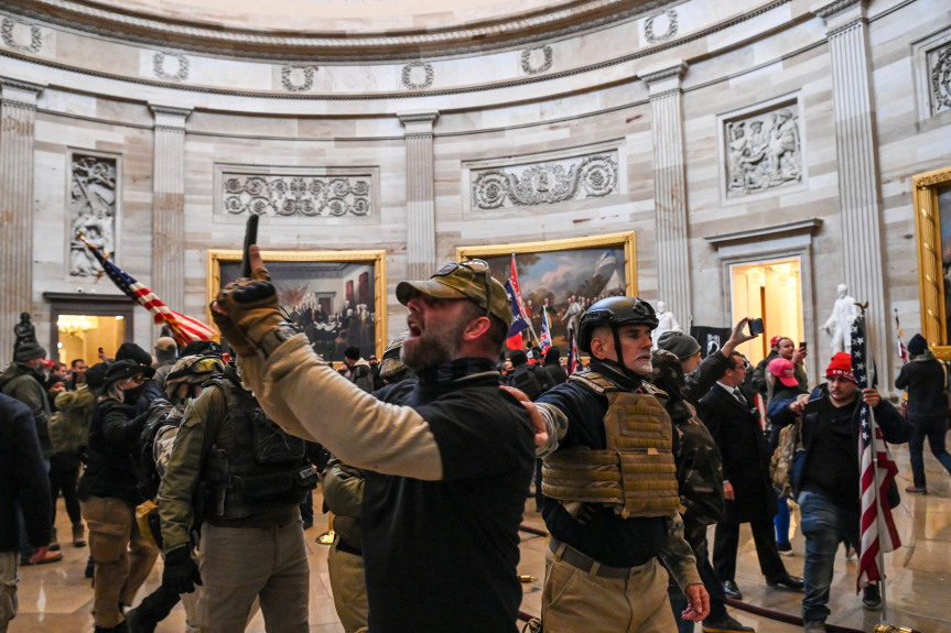 LAPD wants to know if its officers attended Trump rally or Capitol Building riot