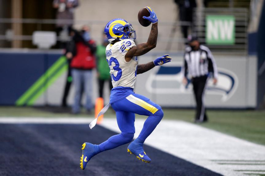 Rams overcome more pain to stun Seahawks in NFC wild-card win