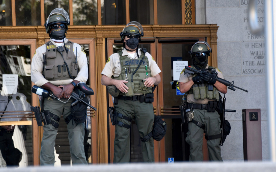 Deputy possibly involved in U.S. Capitol insurrection
