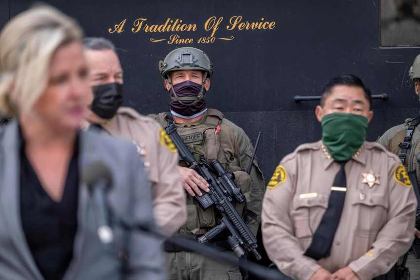 Southern California police, sheriff's deputies on high alert for Inauguration Day after Capitol attack
