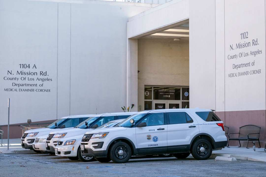 As LA County COVID deaths mount, mortuaries backed up; hospitals diverting bodies to coroner