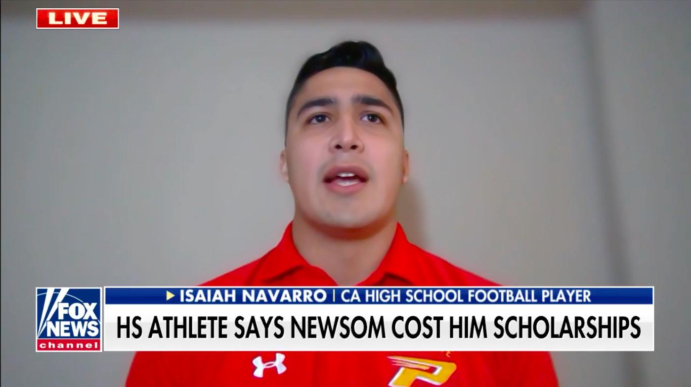 Lancaster football player's frustrated Twitter shot at Newsom steamrolls into national spotlight