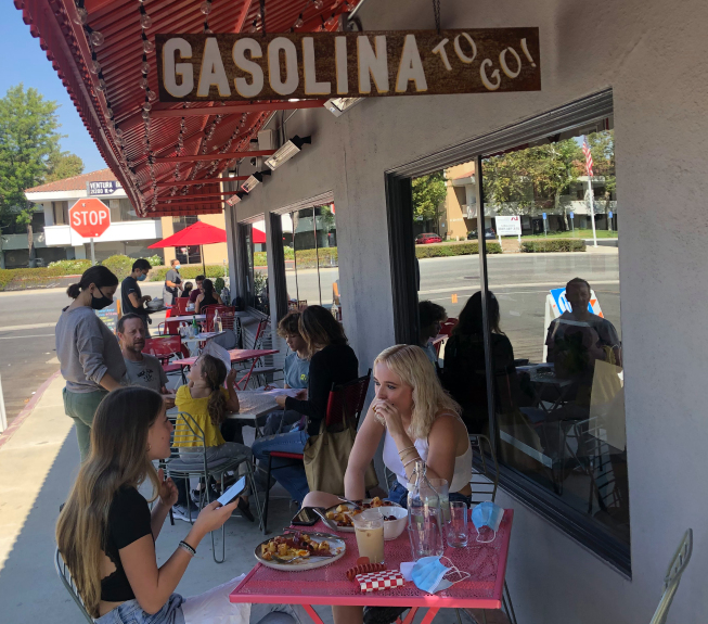 Tasty Spanish food at Gasolina Café in Woodland Hills is a pleasant surprise