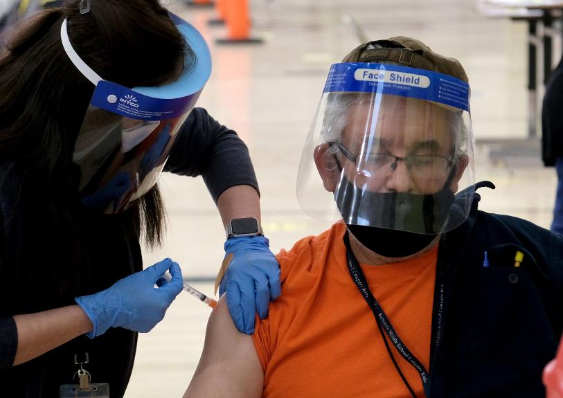 L.A. city-run coronavirus vaccine sites will reopen Tuesday