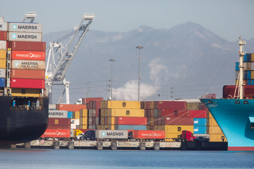 Virus in 2020 kept Ports of LA, Long Beach pivoting to keep pace with the unexpected