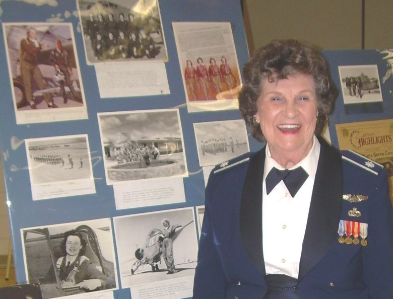 March is your month, Betty Jane. Thanks for what you did for women in Air Force