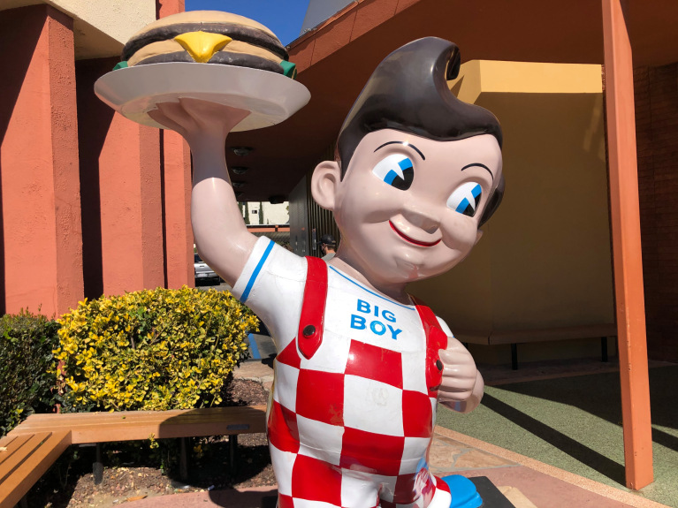 Bob's Big Boy in Burbank offers a classic dining experience