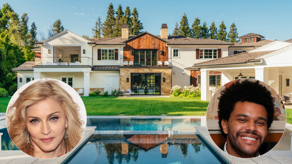 Madonna buys The Weeknd's Hidden Hills home for $19.3 million