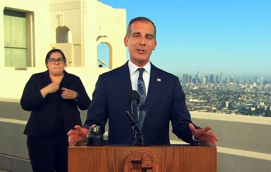 Mayor Garcetti focuses on recovery during State of the City address