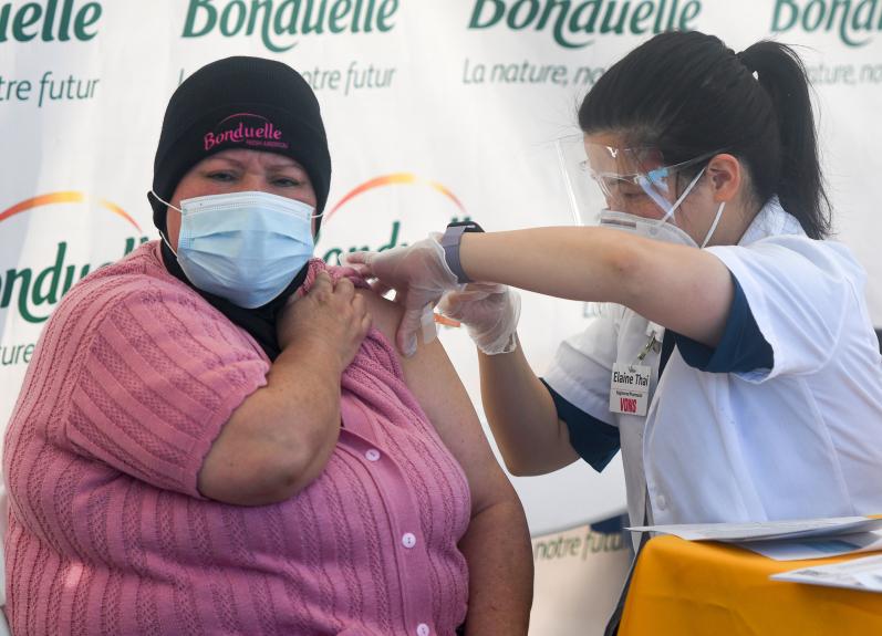 Vaccine eligibility widens in LA County despite limited doses