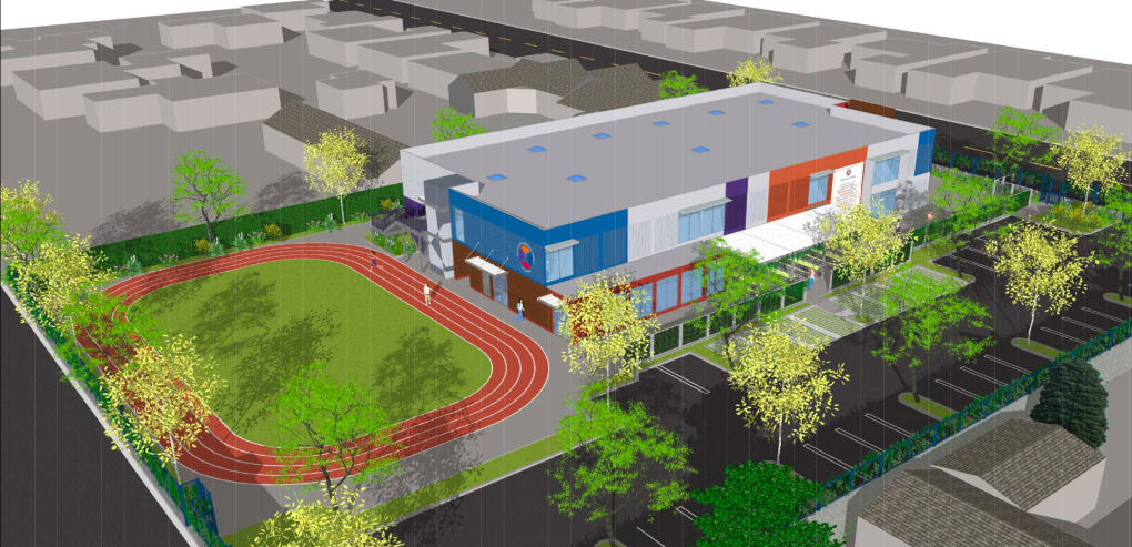 An all-girls middle school found a home in Van Nuys, but neighbors say it's an 'invasion'
