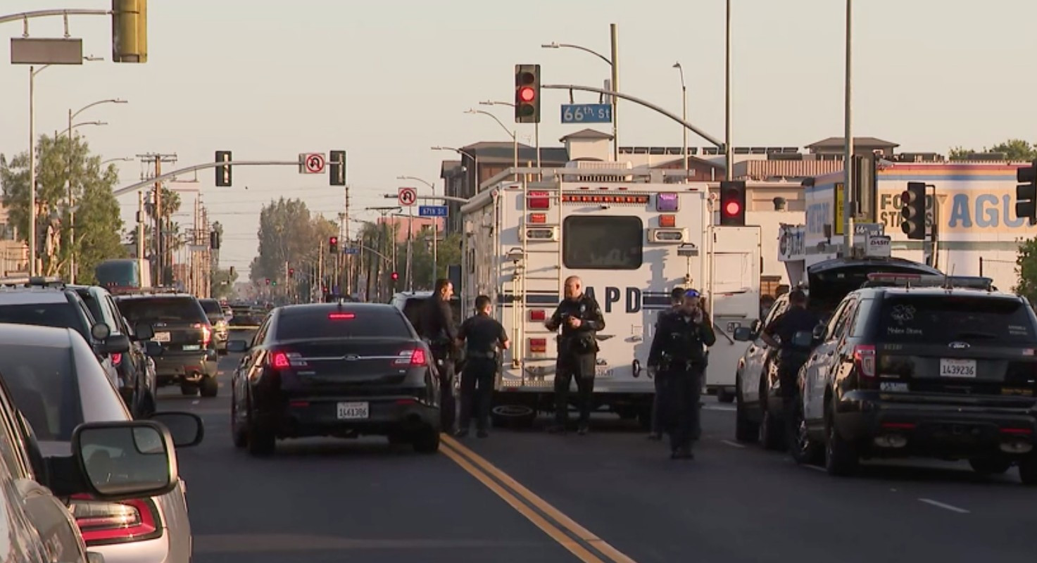 Homicide suspect in South L.A. shootout with Ontario police is identified