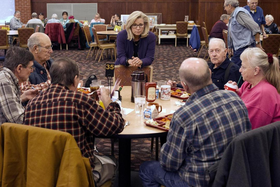 Scrum of challengers awaits Cheney after House GOP ouster