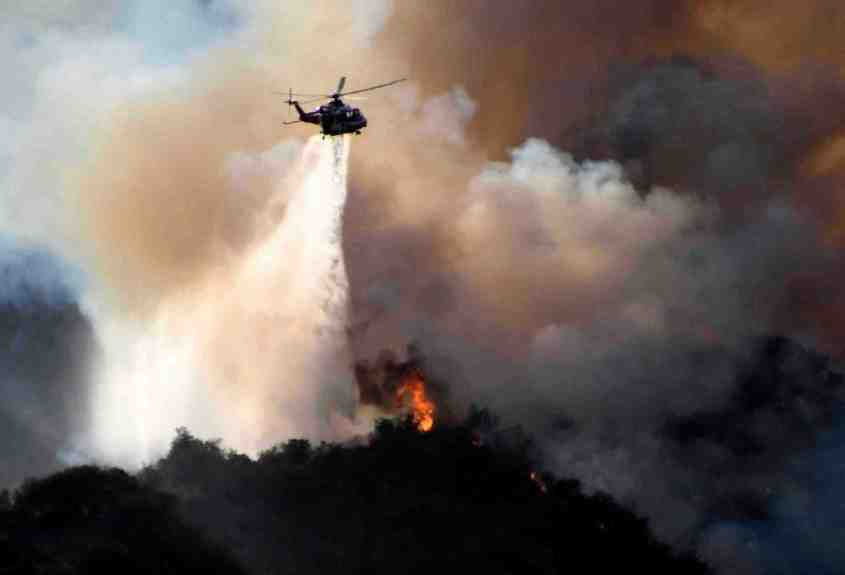 Palisades fire grows to 1,325 acres; More than 1,000 people under mandatory evacuation