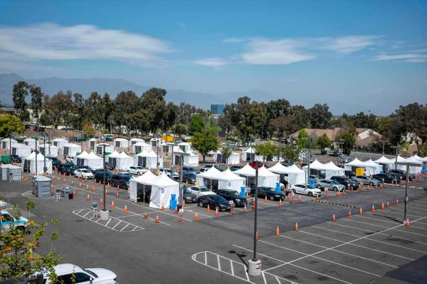 City of LA to close large-scale COVID-19 vaccine sites in favor of all-mobile approach