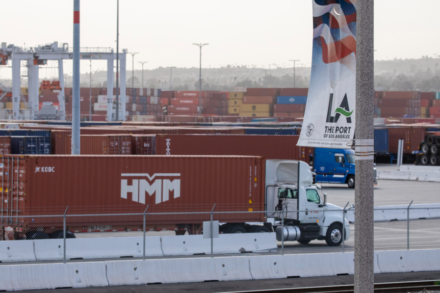 LA port commissioner says truckers may pay the price for clean air cargo fees