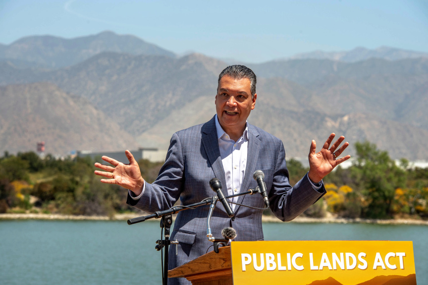 Sen. Alex Padilla moves to protect 1 million acres of California land