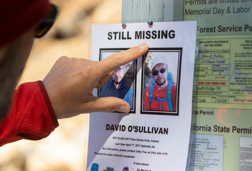 The mysterious disappearance of Pacific Crest Trail hiker David O'Sullivan