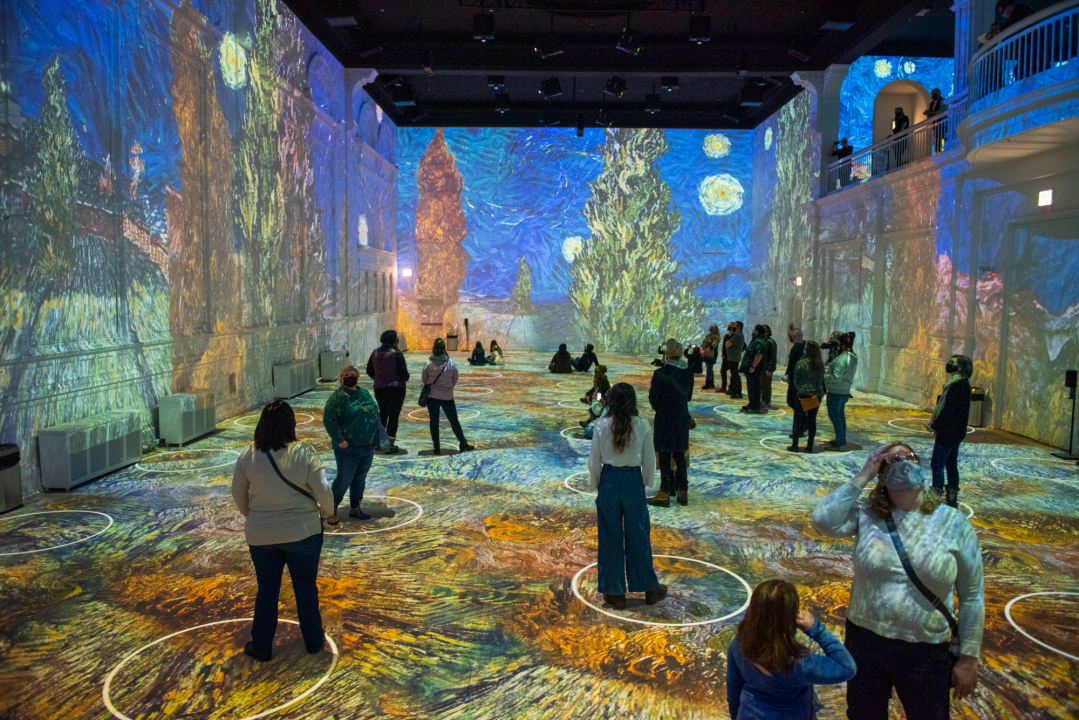 'Immersive Van Gogh' exhibit announces venue and opening date in Los Angeles